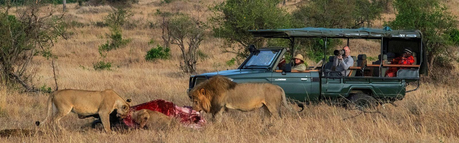 Echte Mannen Safari