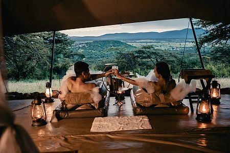 bubbelbad safari