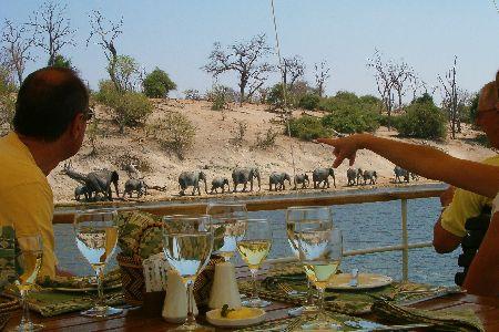 chobe rivier safari